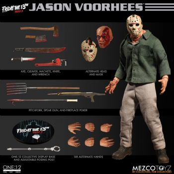 ** Pre-Order ** Mezco One:12 Collective Friday the 13th Part 3 Jason Voorhees Pay Monthly Option